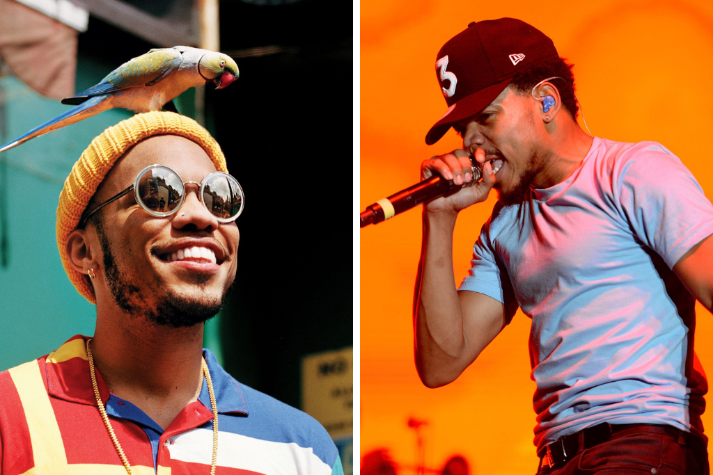 ANDERSON .PAAK SPILLS THAT A CHANCE THE RAPPER COLLAB IS COMING
