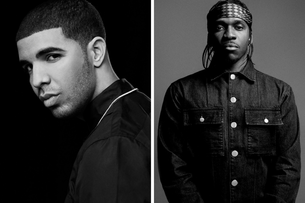 A Complete History Of The Pusha T vs. Drake Beef