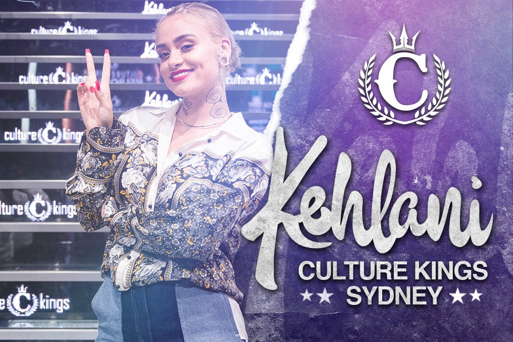 Kehlani To Take Over Culture Kings Sydney