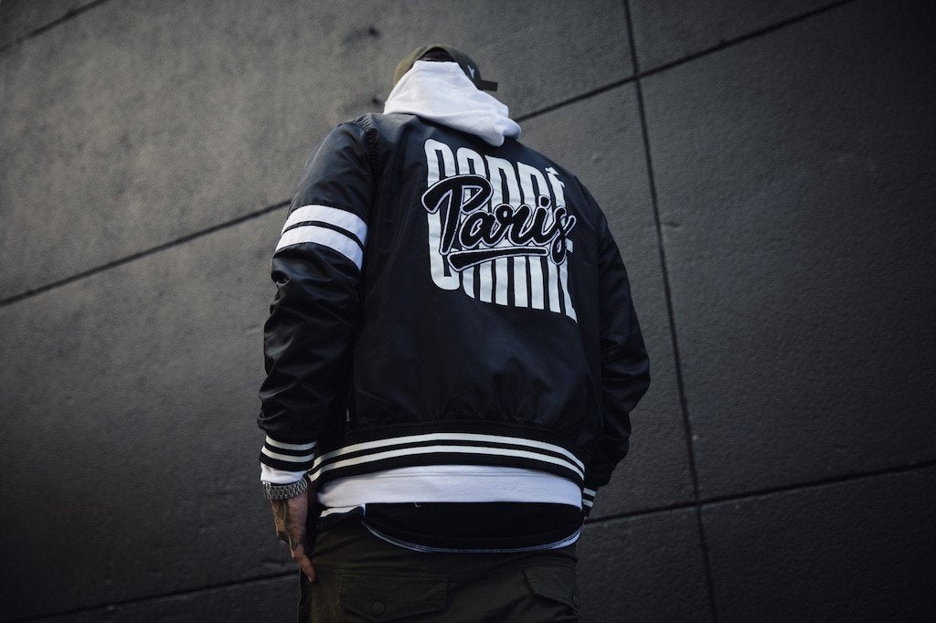 Update Your Winter Wardrobe With The Carré Noir Varsity Jacket