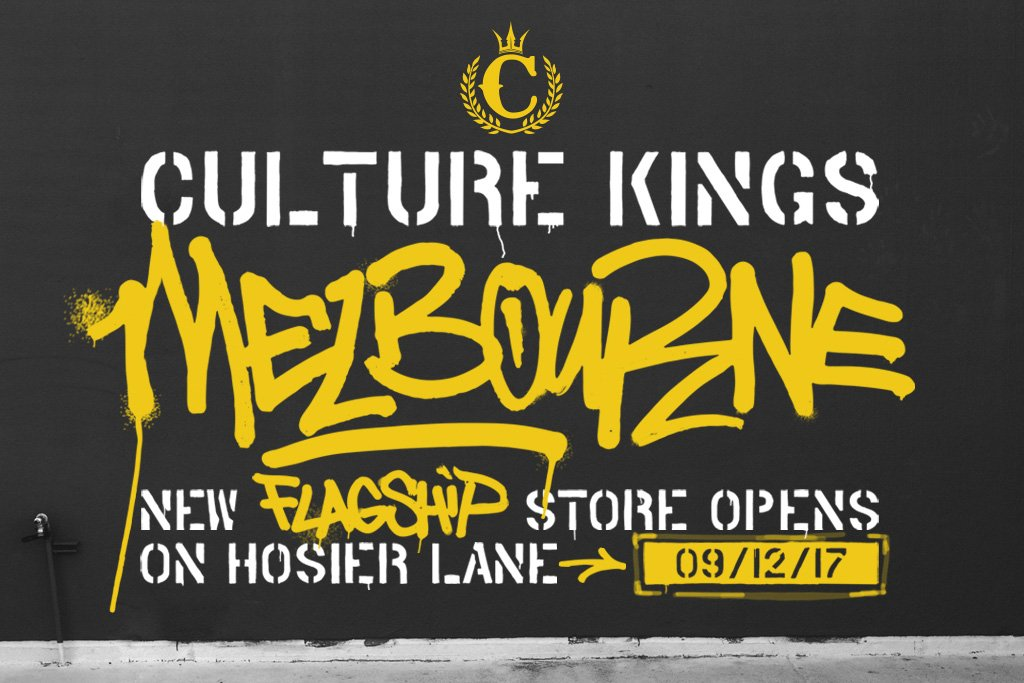 The Biggest Culture Kings Store Ever Is Coming to Melbourne