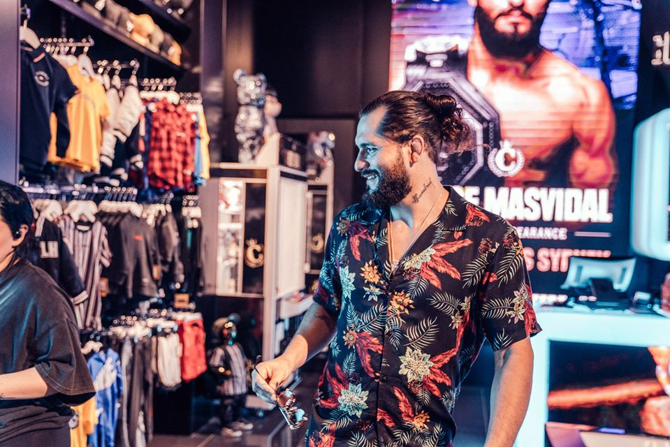 In The Bag: What BMF Belt Holder Jorge Masvidal Copped In Store
