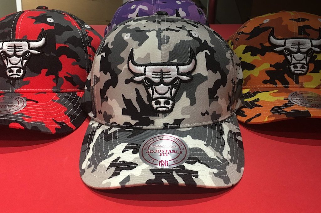 World Exclusive: 110 Mitchell & Ness Camo Is Coming