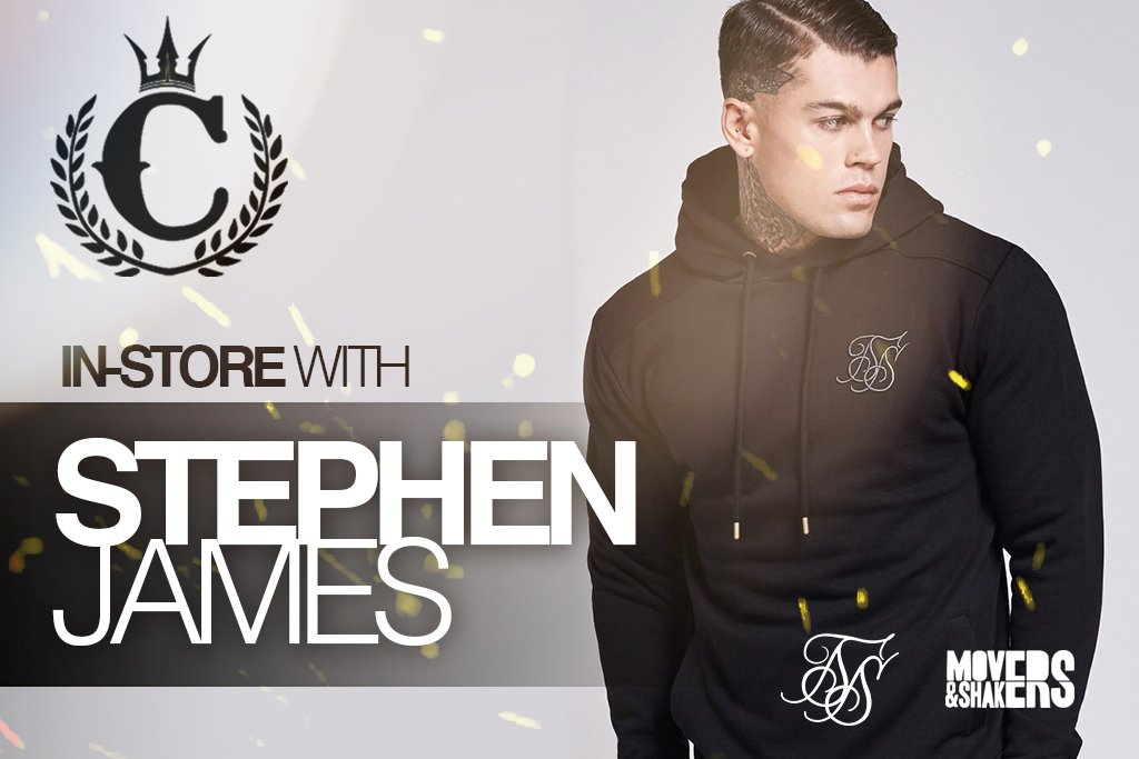 Stephen James Is Bringing The Heat To Culture Kings!
