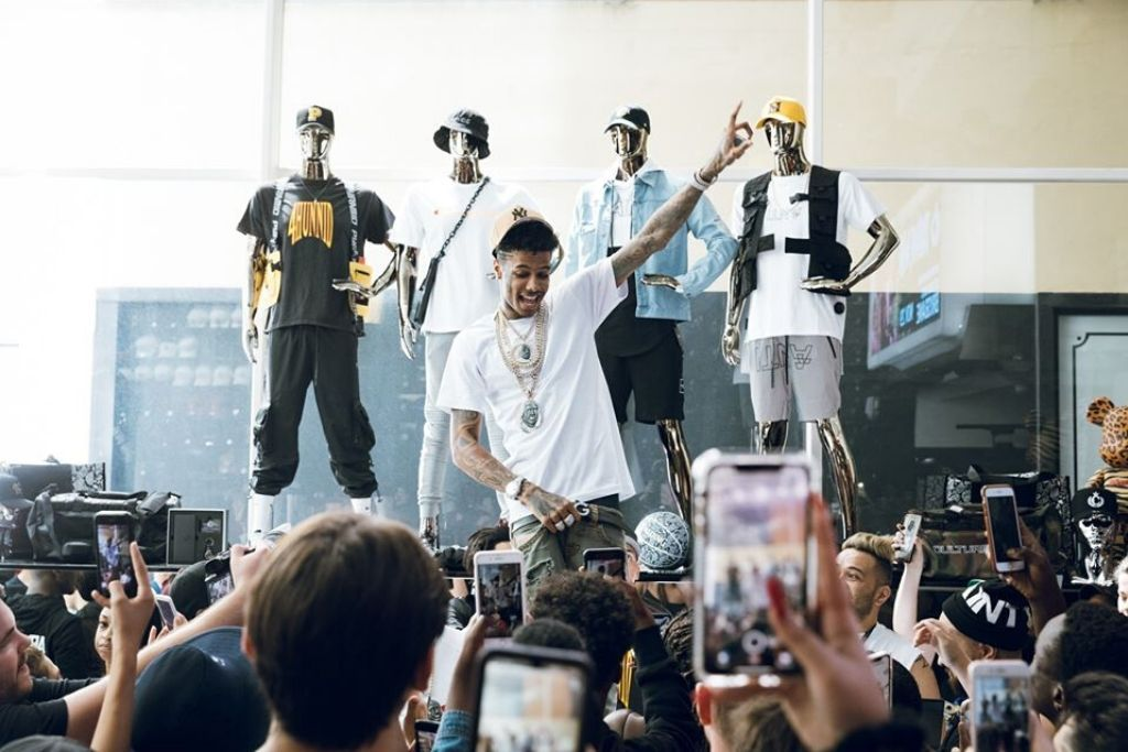 In The Bag: All The Details From Blueface's Three Huge In-Store Appearances