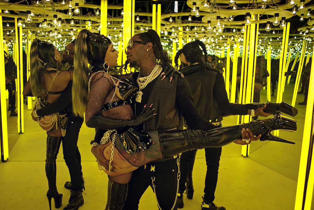 Offset & Cardi B Reunite In Video For 'Clout'