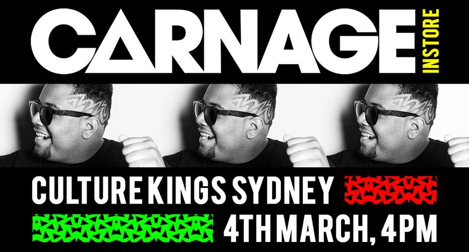 Carnage coming to Culture Kings