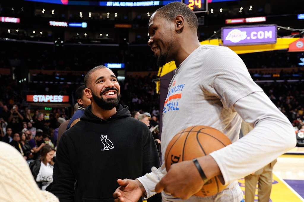 Drake Shares Old DMs From Durant, Kendrick Lamar & More