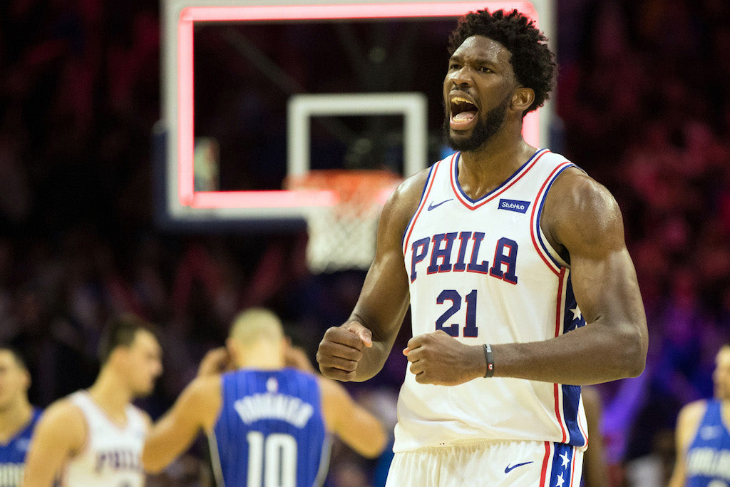 "Embiid Fined $25K For Saying ""Referees Fucking Suck"""