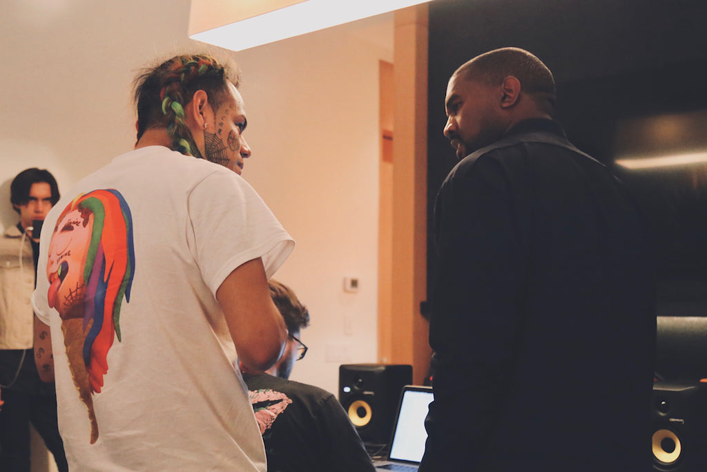 Kanye West & 6ix9ine Making Music?!