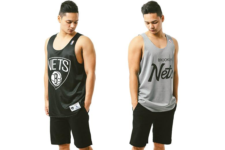 Mitchell & Ness Reversible Mesh Tanks