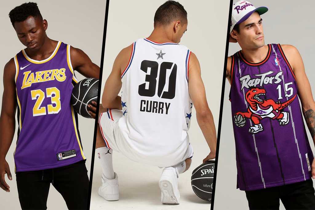 As If You're Not Copping NBA Jerseys From CK