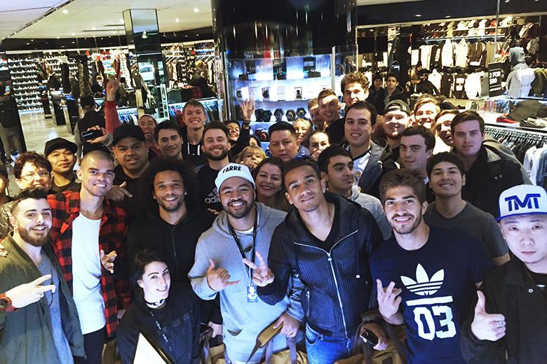 Real Madrid in store at Culture Kings Melbourne