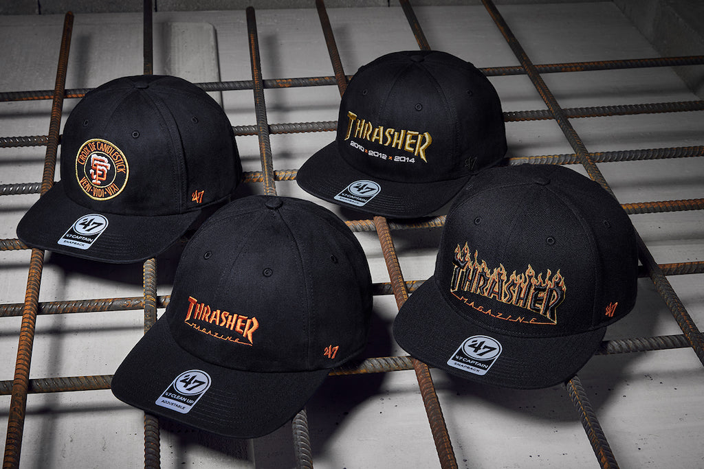 THRASHER X 47' BRAND X MLB COLLAB IS COMING