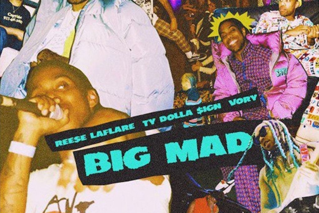 Ty Dolla $ign Collabs With Reese LaFlare & Vory on 'Big Mad'