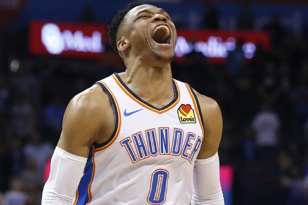 Westbrook Recorded Second 20-20-20 Game In NBA History For Nipsey