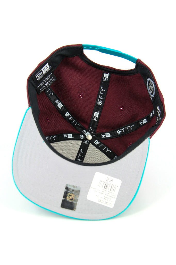 Ducks Original Fit Snapback Maroon/teal