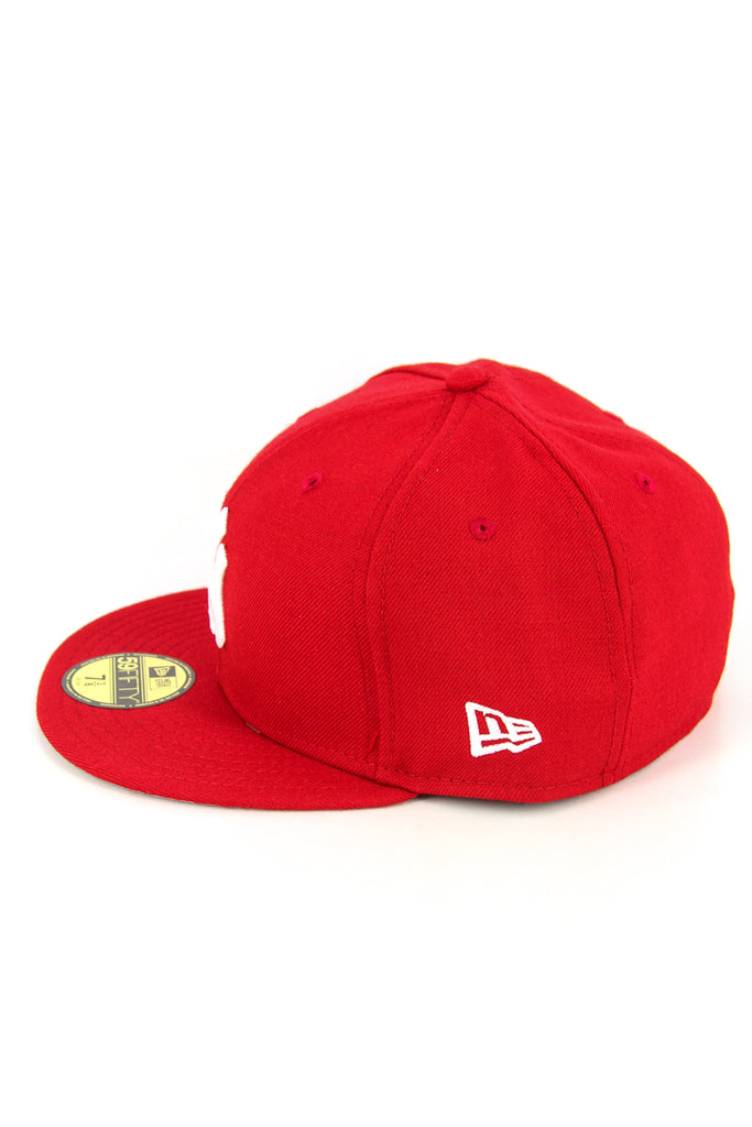 Dodgers Fashion Fitted Scarlet/white/g