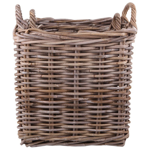 Rattan Square Basket