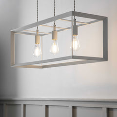 Trio Boxed Pendant Light