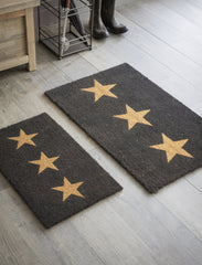 Three Star Doormat - 2 Sizes