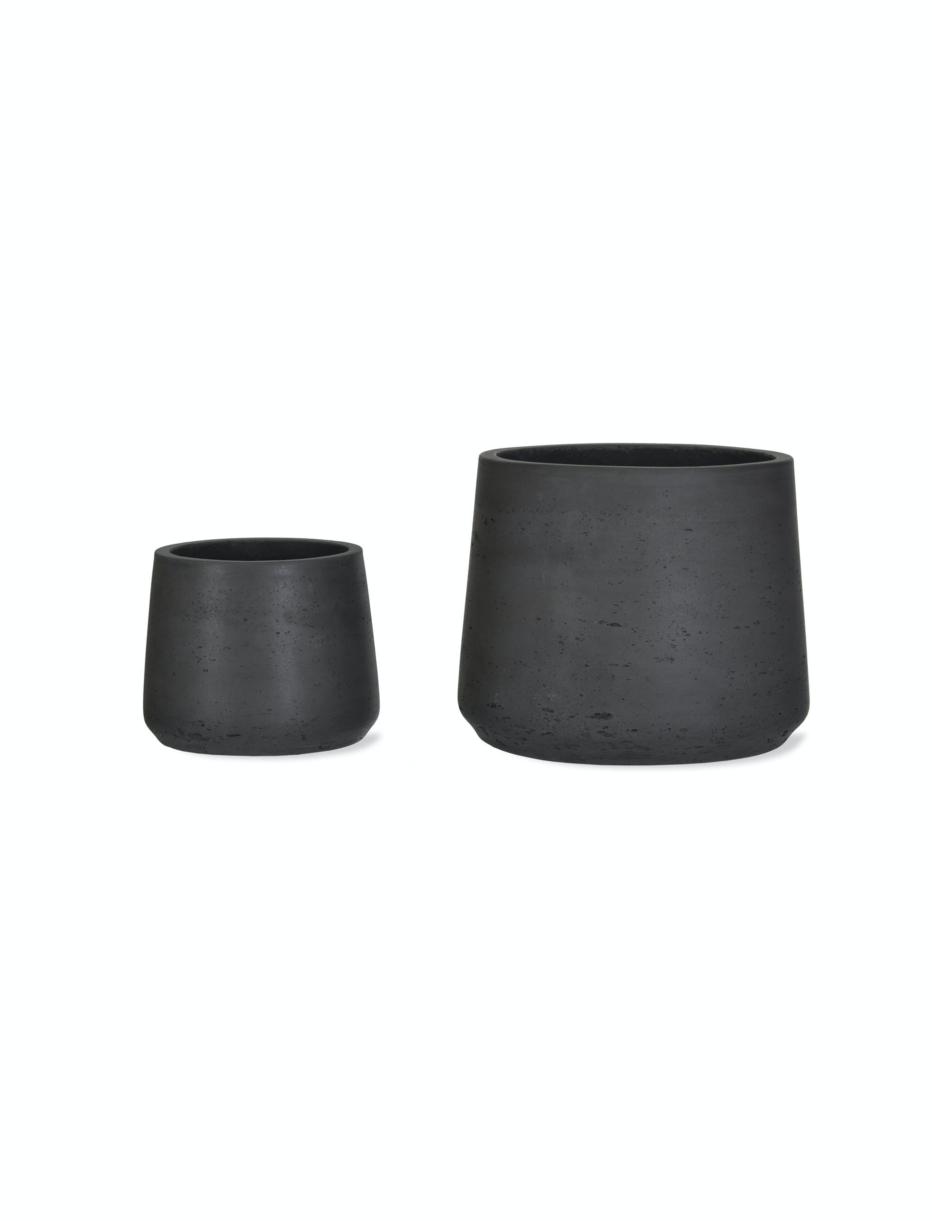 Set Of 2 Tapered Plant Pots