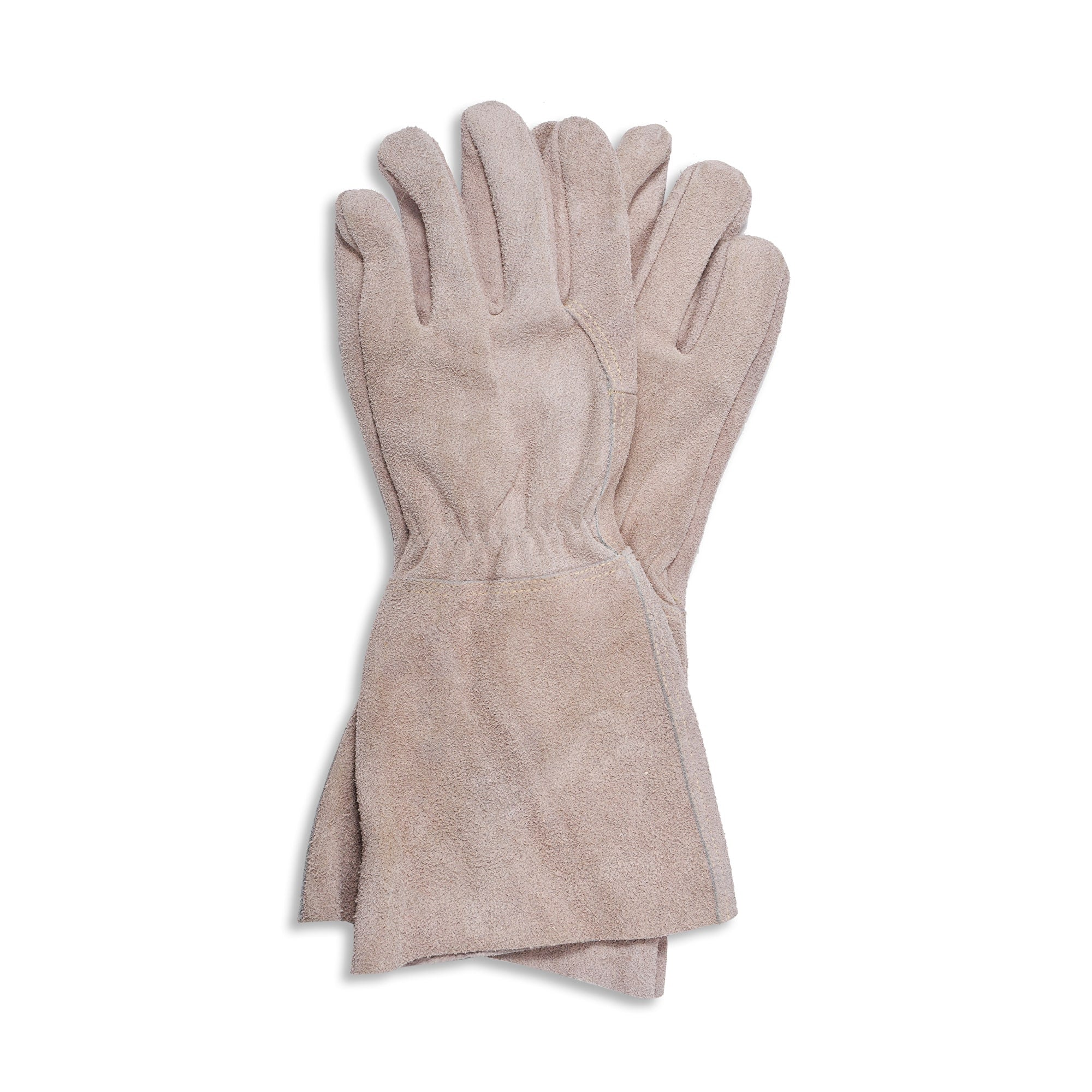 Suede Gauntlet Gloves - End of line