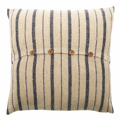 Navy & Stone Cushion Cover - Sample
