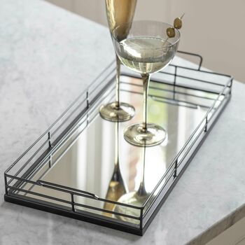 Curzon Mirrored Tray
