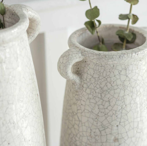 Ceramic Crackle Glaze Vase