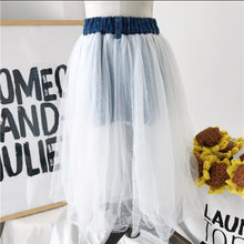 Denin Tulle Skirt