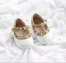 Glitter Valentina baby shoes