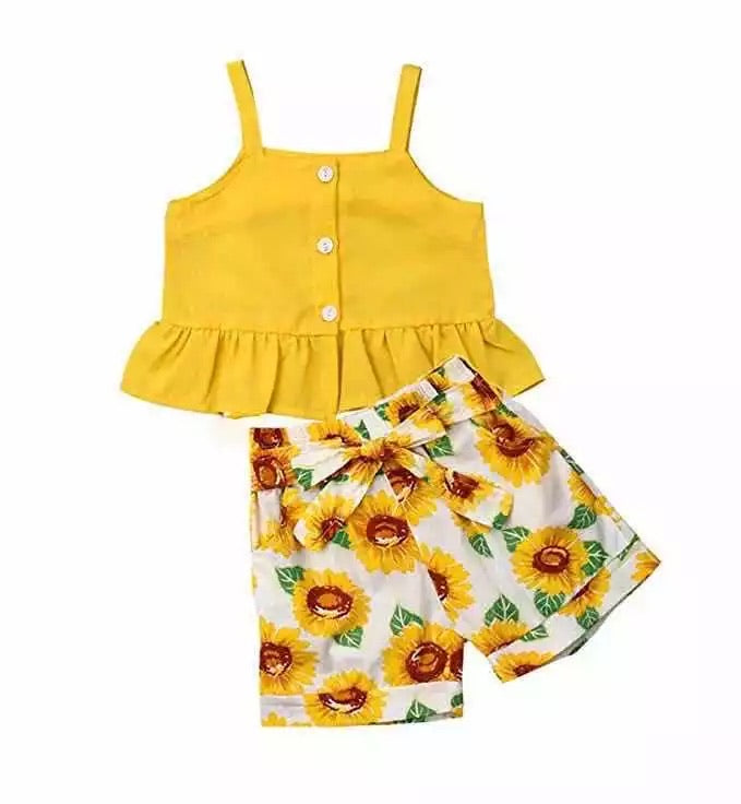 Sunflower pant set