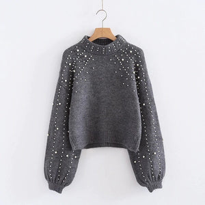 Pearls mommy sweater