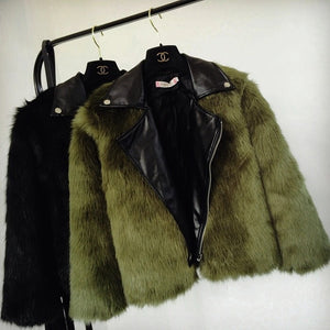 Adult Fur faux Coat