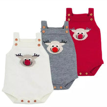 Christmas Baby Adorable Deer Overall