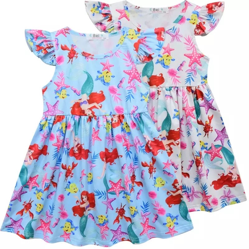 Ariel dress 2 pieces