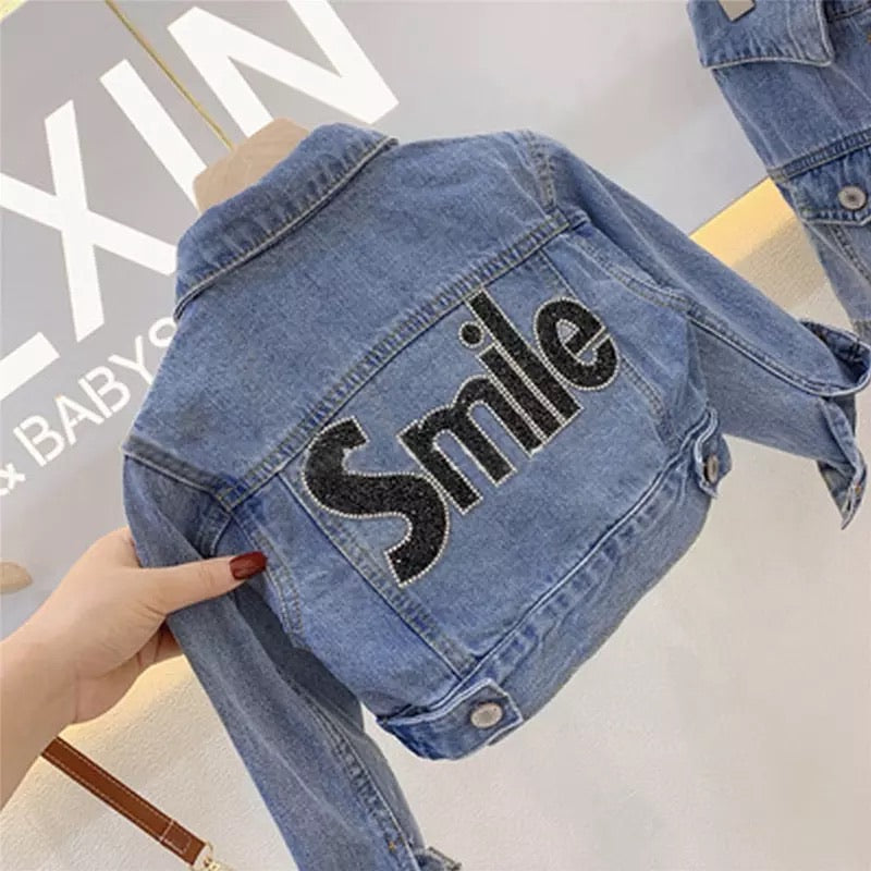 Smile denim set