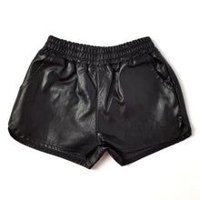 Girls leather short
