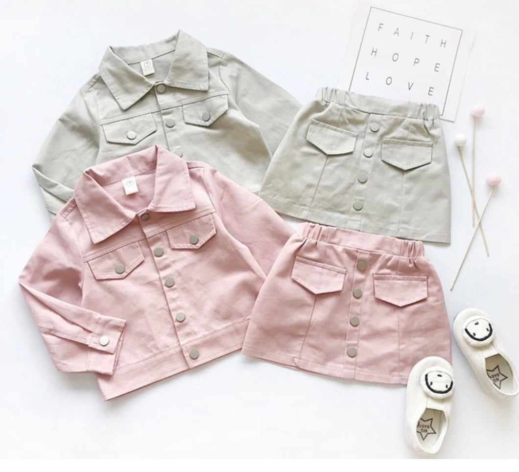 Christi  Skirt Set