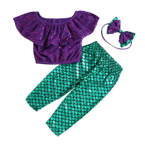 Mermaid 3 pieces set