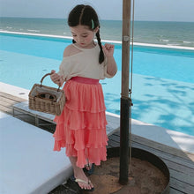 Girls Chiffon Skirt