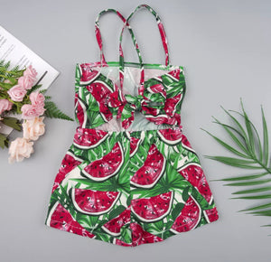 Watermelons rompers