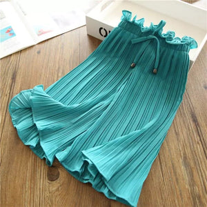 Girls chiffon pants