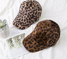 Girls cheetah cap