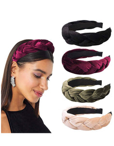 Velvet headband 4 pieces
