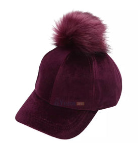 Pom Pom Cap Big Kids & Adult