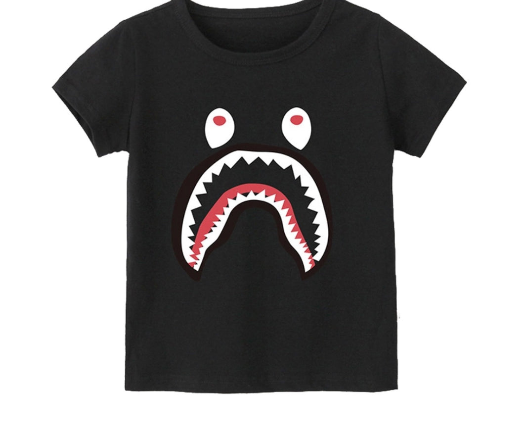 Little monsters tee kids