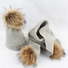 Mommy hat & scarf set