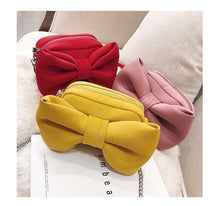 Big bow handbags